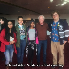 Bob_&_kids_Sundance_school_screening