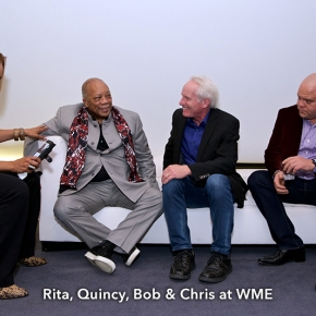 Rita, Quincy, bob Chris at WME